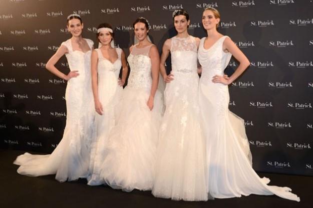 le-modelle-mostrano-gli-abiti-da-sposa-st-patrick-2014